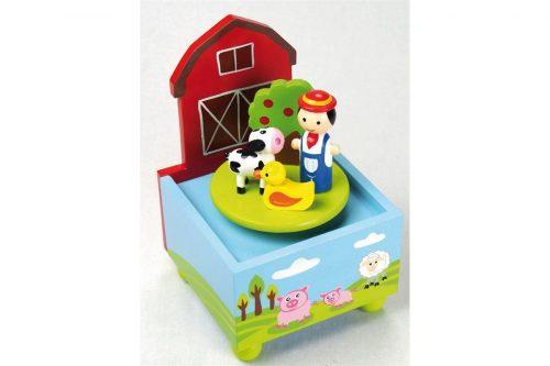 Glasbena skrinjica kmetija Music box
