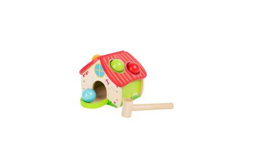 Hiša s kroglami in kladivom Legler